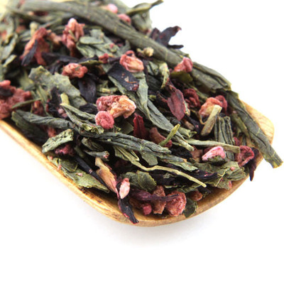 Raspberry Green Tea 100g