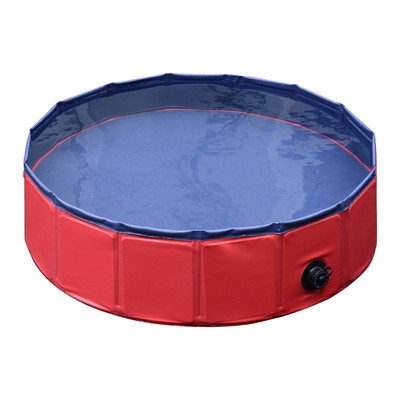 """31.5"""" Home Outdoor  Folding Pet Dog Swimming Pool"""