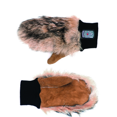 Coyote Fur Mitts