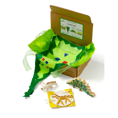 Green Kid Crafts Dinosaur Discovery Box