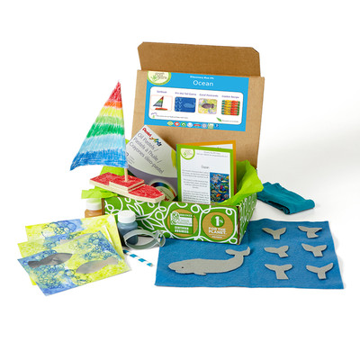 Green Kid Crafts Ocean Discovery Box