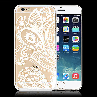Unique Clear and Paisley iPhone 6 Case