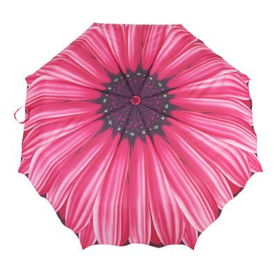 Austin House Fuchia Daisy Telescopic Umbrella