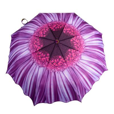 Austin House Purple Daisy Telescopic Umbrella