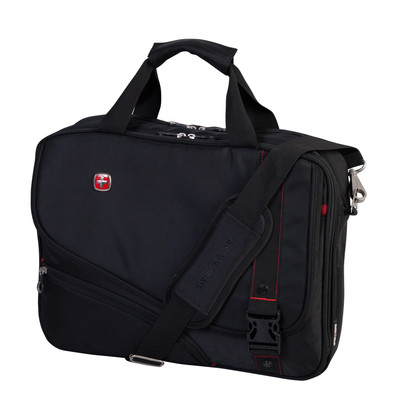 "Swiss Gear Double Gusset 15.6"" Top Load Computer Bag"