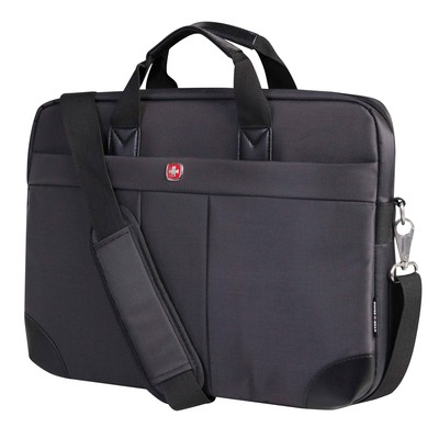 "Swiss Gear 15.6"" Ultraslim Nylon Notebook Bag"