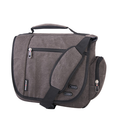Swiss Gear 16 oz. Canvas Messenger Bag