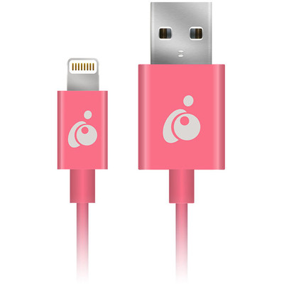 Reversible USB to Lightning Color Cable 3.3ft 1m Pink - GRUL01-PK