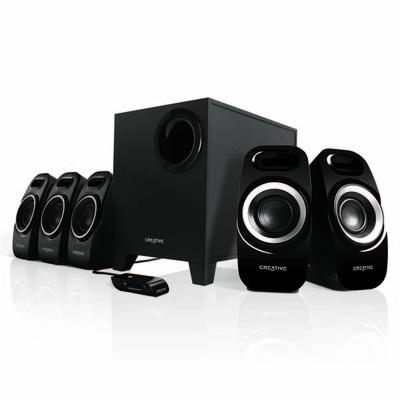 Creative Inspire T6300 5.1 Surround Speakers (MF4115) (CL-SK51-T6300)