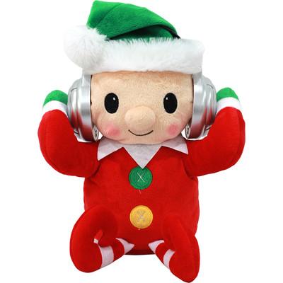 Adorable Dancing Elf Portable Plush Bluetooth Communication Speaker (6944892020594)