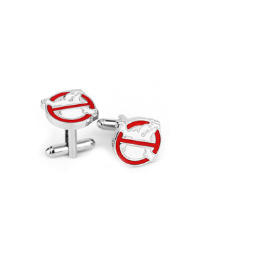 Men's Stainless Steel Ghostbuster Cufflinks