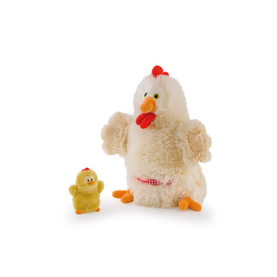 Puppet Hen With Chick