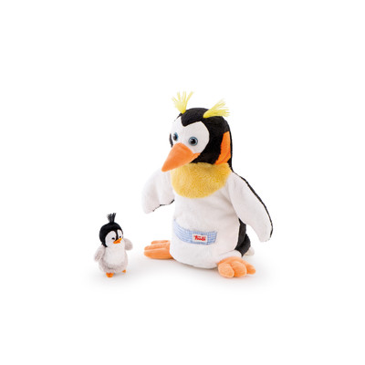 Puppet Penguin With Baby