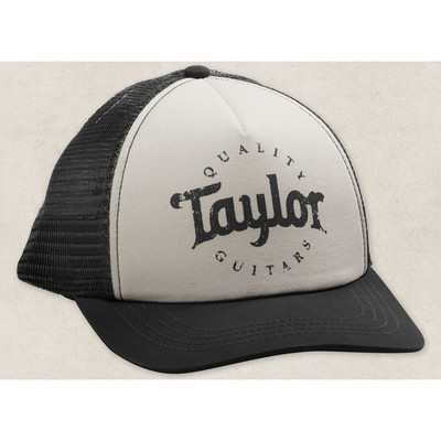 Taylor Trucker Cap - Black/White - Taylor Guitars - Taylorware, Home and Gifts - 00388
