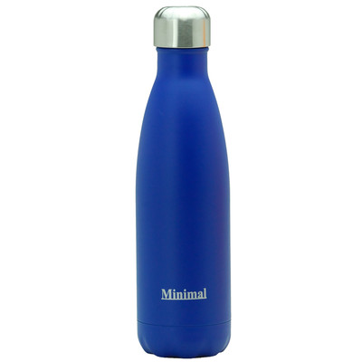 Stainless Steel Insulated Bottle - 500ml Blue