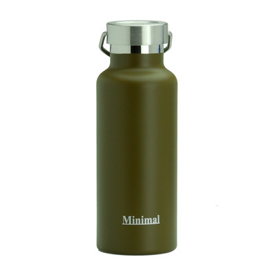 Stainless Steel Insulated Flask - 500ml Brown