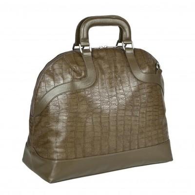 Lassig Bowler Croco Olive Diaper Bag