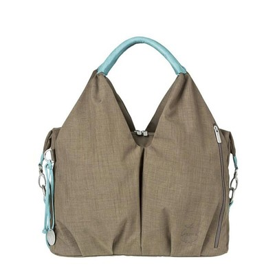 Lassig Neckline Bag - Taupe