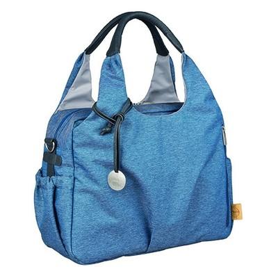 Lassig Global Diaper Bag - Ecoya Blue