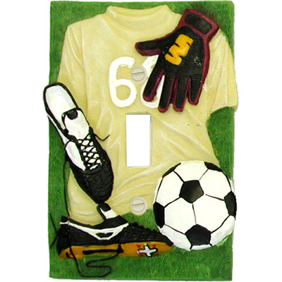 Soccer Wall Plate for Kids