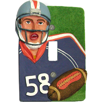 Football Wall Plate for Kids