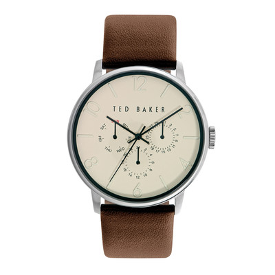 Ted Baker Men's 10023493 Smart Casual Round Black Multi-Function Strap Watch