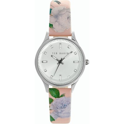 Ted Baker Women's Vintage Glam Silver Watch