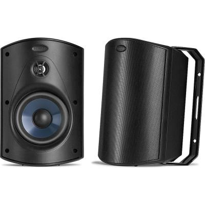Polk Audio Atrium 5 Black Outdoor Speakers (Atrium 5) Pair