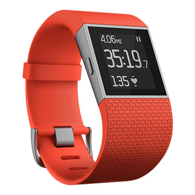 Fitbit Surge Wireless Activity Tracker, Tangerine