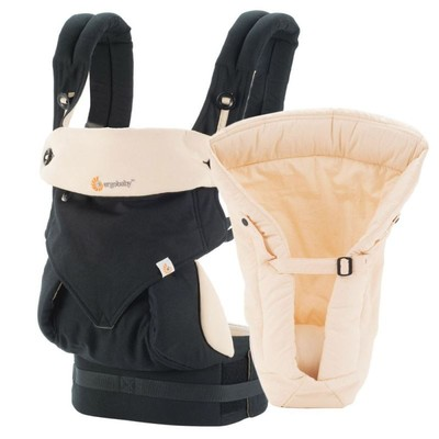 Ergobaby 360 Baby Carrier Bundle Of Joy - Black/Camel