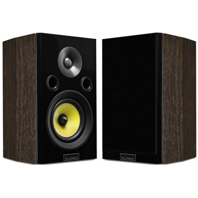 Fluance Signature Series HiFi Two-way Bookshelf Surround Sound Speakers (HFSW) (061783263587)