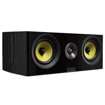 Fluance Signature Series HiFi Two-way Center Channel Speaker for Home Theater (061783263549)