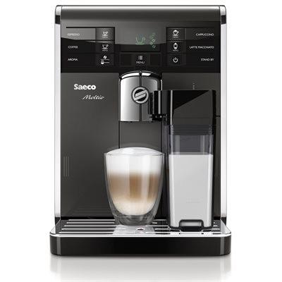 Saeco Moltio Automatic Espresso Machine - Black & Silver