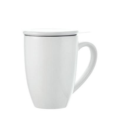 Grosche Kassel Infuser Tea Mug, White, 330ml