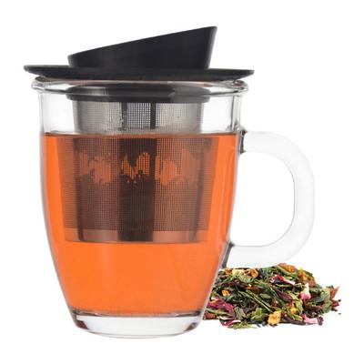 Grosche Aspen Infuser Tea Mug, 400ml