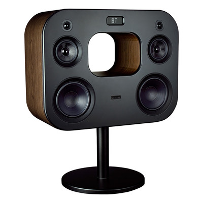 "Fluance Wireless High Fidelity Music System with Powerful Amplifier 8"" Subwoofers (Natural Walnut) (061783264041)"
