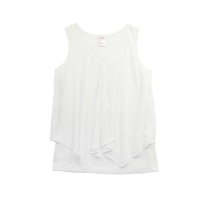 Guilty JERSEY TANK WITH CHIFFON