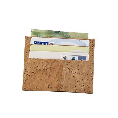 Ultra Slim Credit Card Cork Holder ID Card Wallet Vegan Gift