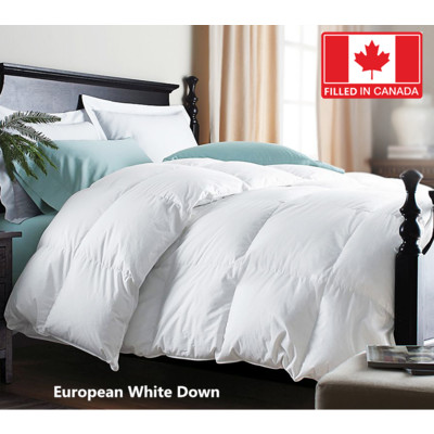 Canadian Standard European Down Duvet 260 T.C 700 Loft  Queen size