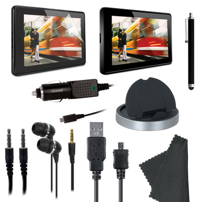DreamGear ISOUND-3402 Essential Kit For Kindle Fire