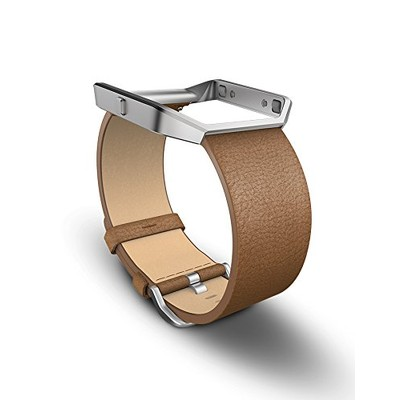 Fitbit Blaze, Accessory Band, Leather, Camel