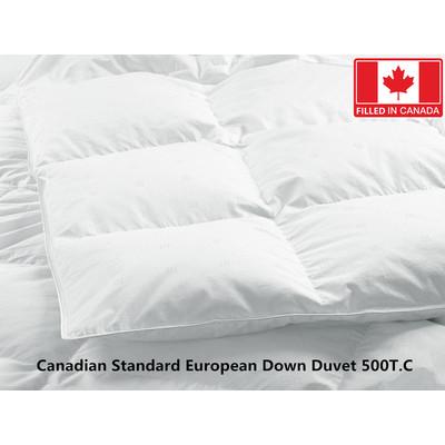 Canadian Standard European Down Duvet 500T.C 625 Loft King size