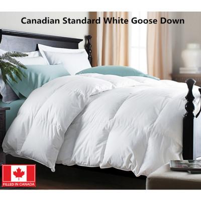 Canadian Standard White Goose Down Duvet 260T 550 Loft Queen size