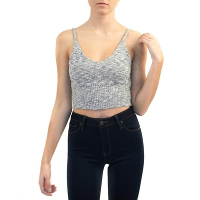 Debut CROPPED ROUNDED NECK CAMI