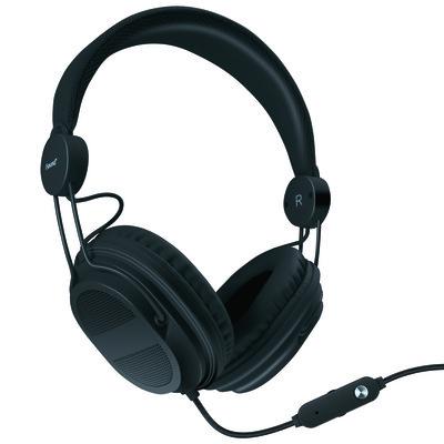 Kid friendly Headphones with mic + music volume (845620055364)