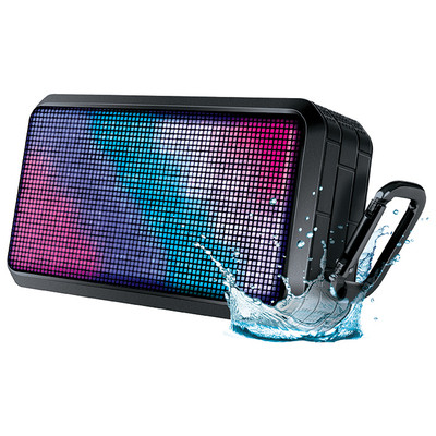 Water resistant durable glowing light rechargeable speaker (845620067954)
