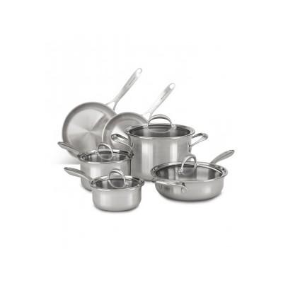 KitchenAid 5 Ply Copper Core 10 Piece Cookware Set