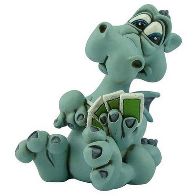 Warren Stratford - Dragon Playing Cards Figurine