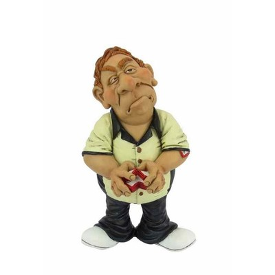 Warren Stratford - Occupations Collectible Figurine - Card Player