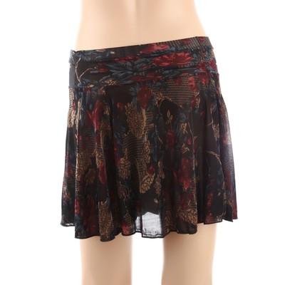 Luxanne Dark Plain Loose Shorts One Size